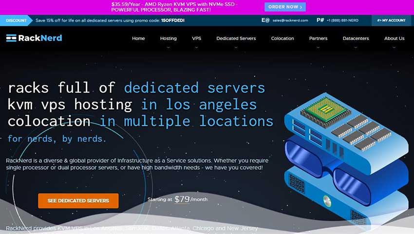 RackNerd:$16.5/年KVM-1.5GB/20GB/3TB/洛杉矶MC机房-VPS SO